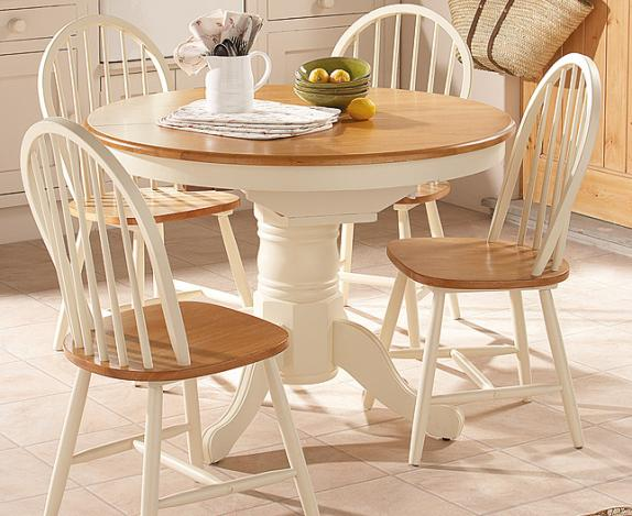 round kitchen tables for 8