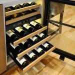 modern wine cooler for kitchen island-innovation