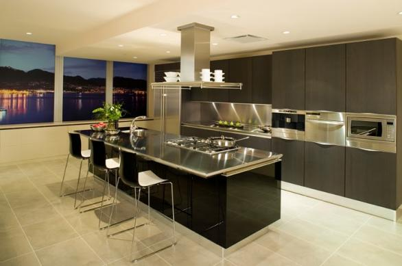 modern kitchen interior and design