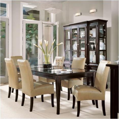 Luxus und modernen Glas Küchentisch Design