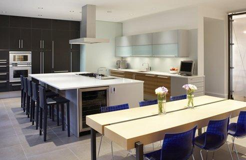 Modern Kitchen Island Ideas modern kitchen island design. elegant small kitchen with island