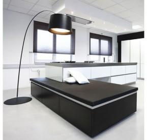modern kitchen ideas-imagination-black and white-design