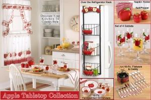 Modern kitchen interior designs decorating your kitchen for Apple kitchen decoration set