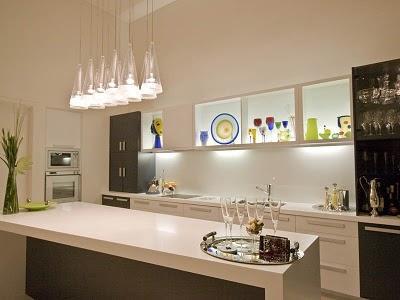 schöne und moderne Küche Lampen Dekoration