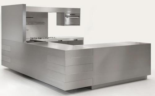 contemporary kitchen -stainless steel