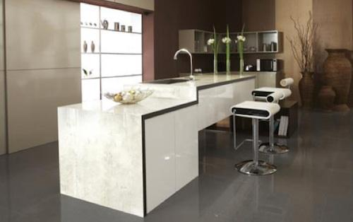 new modern kitchen-white kitchen island
