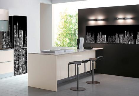 Luxus modernen Küchengeräte