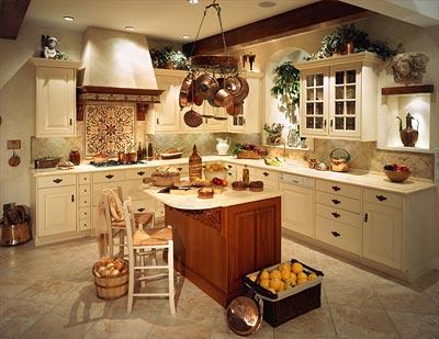 classic kitchen decoration-wood-interior ideas