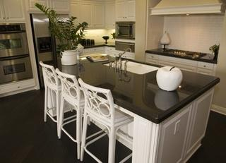 elegant seating for kitchen island classic design