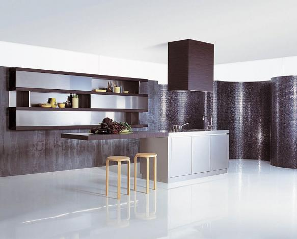 stainless steel kitchen design and decore