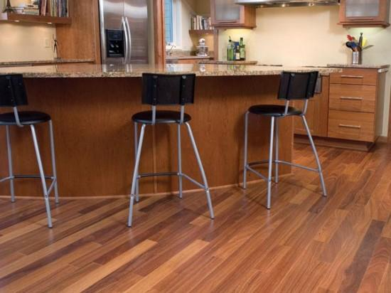 wood kitchen floor-ideas