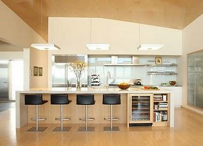 moderne und luxuriöse Küche Ideen-Geräte