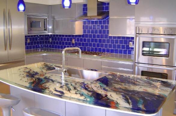 luxus küche: luxus glasplatten küche entwirft möbel aus thinkglass
