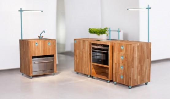 Maximieren Sie die Space von der Luxus-Küche Ideen Design