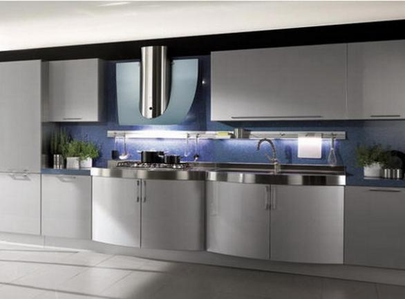 modern and smooth kitchen furniture design