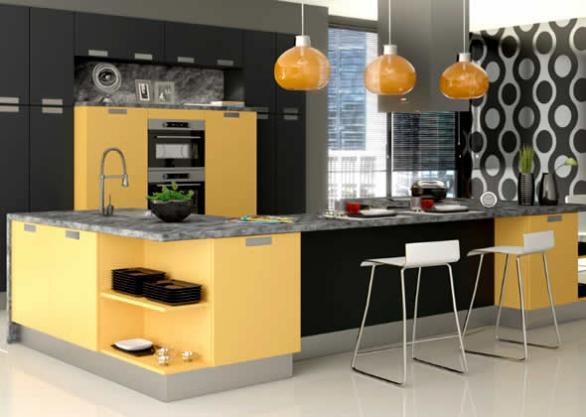 modern und komfortabel, funktionelle Küche