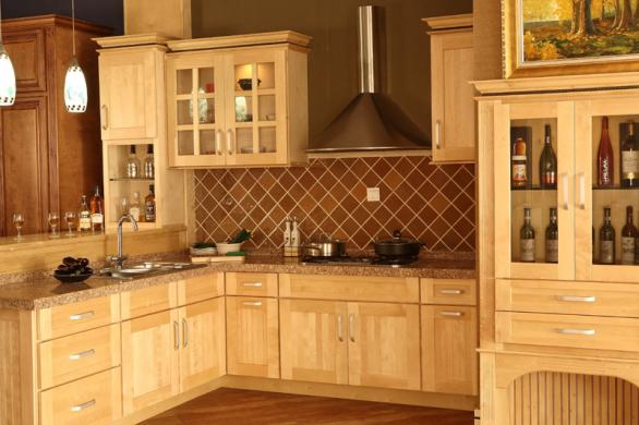 retro kitchen design-interior-ideas-wooden cabinets