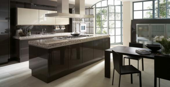 luxury kitchen design-granite countertops
