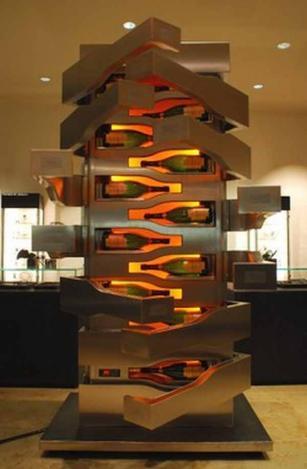 modernen und exzentrischen Weinkühler