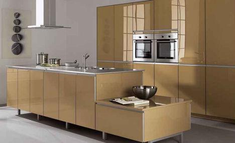 modern kitchen design -brown-ideas