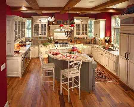 Modern kitchen interior designs decorating your kitchen for Country themed kitchen ideas