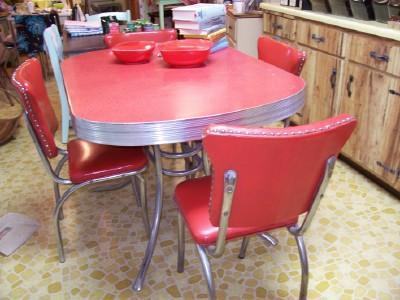 redtro kitchen chairs in red-interior-design