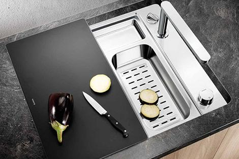 modern kitchen sink-stainless steel