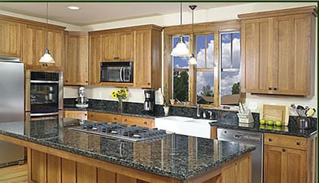 modern kitchen cabinets-wood