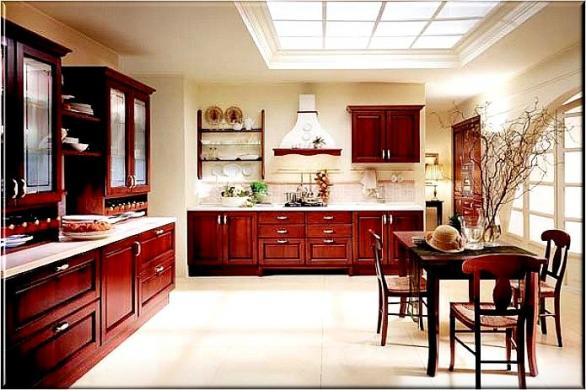 modern kitchen design trends-wood-ideas