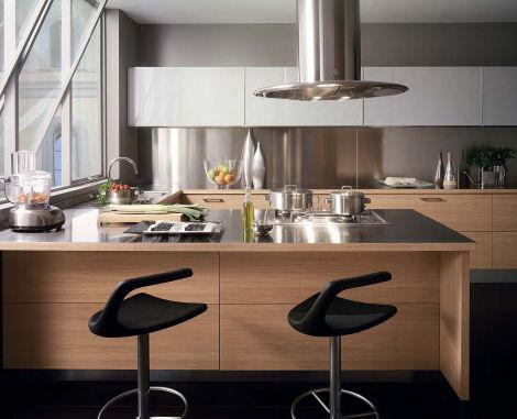 modern and contemporary kitchen-interesting chairs