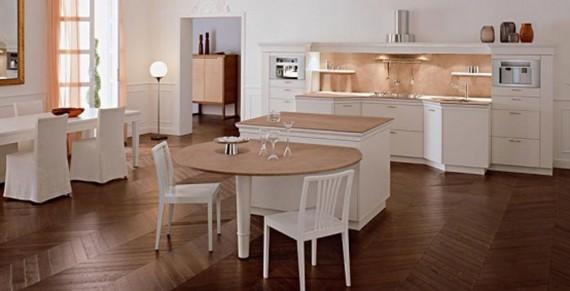 Charmant Moderne Und Gemütliche Küche Classic Modelle ...