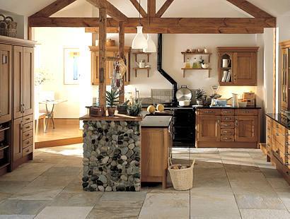 Luxus Land  Küchenschrank  Design