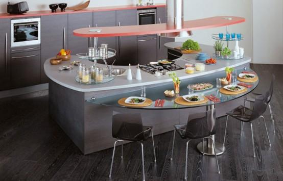 modern kitchen design-stainless steel