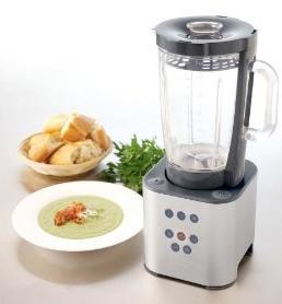 modern kitchen blender-white-soup