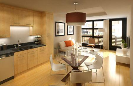 modern kitchen interior design and decoration