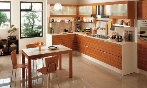 Genial Feng Shui Kitchen Design Wooden Cabinets