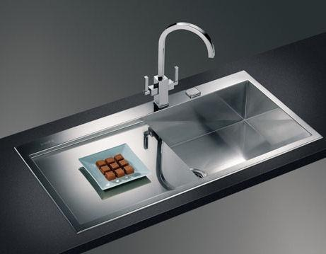 modern kitchen sink-stainless steel-decoration