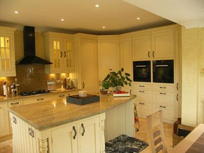 modern granite worktop-classic kitchen