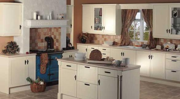 retro kitchen design-interior idea-wooden cabinets