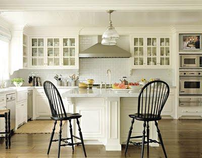 classik kitchen design-white-wood