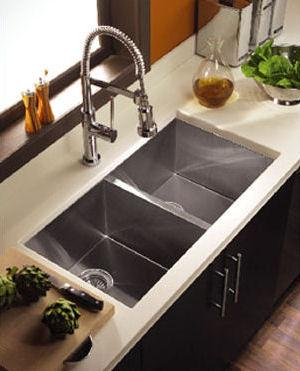 modern stainless kitchen sink-fresh colours