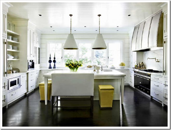 contemporary kitchen-modern kitchen island design