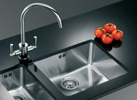 luxury kitchen sink-two basin