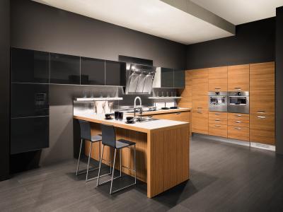 wood kitchen cabinet design