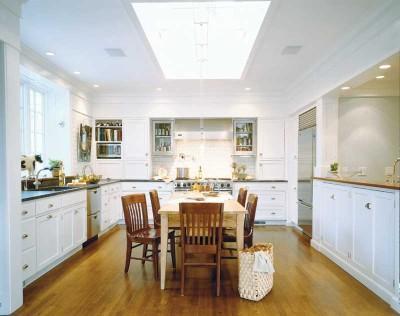 moderne und luxuriöse Küche Dekoration