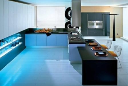 Luxus Küchengerät Integration und Technologie design