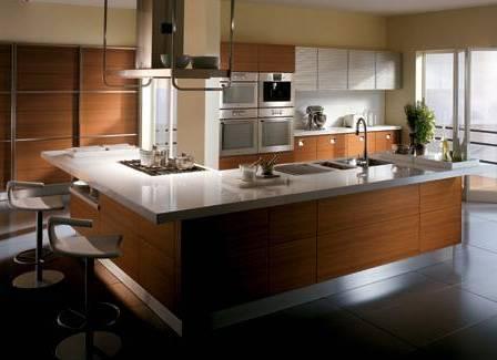 Luxus Küchengerät Integration und Technologie