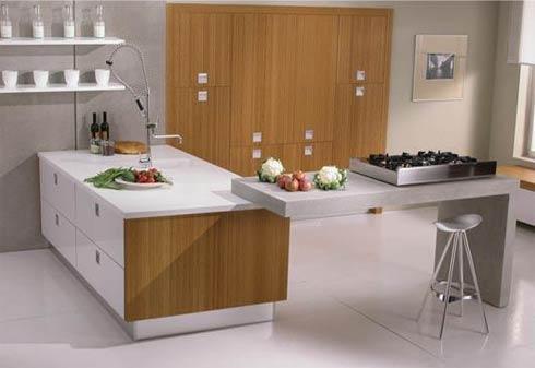 Luxus moderne Küche Interieur und Design