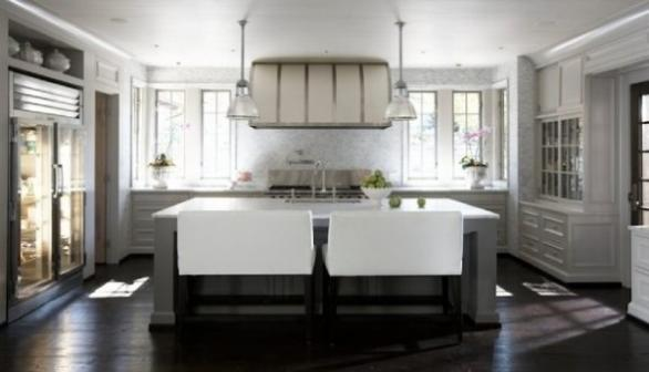 modern and luxury seating for kitchen island