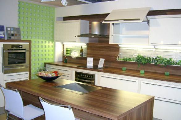 moderne Küche Innenarchitektur